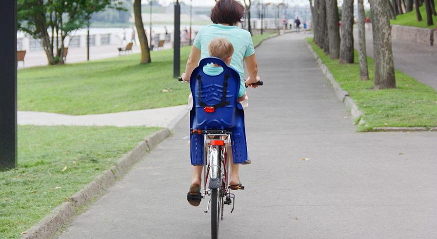 Hur väljer man en bra cykelsits till barn?